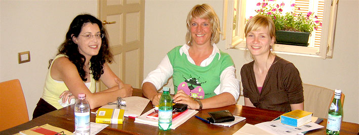 Italian class in Alghero