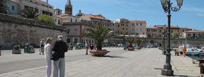 Alghero, Sardinia Port