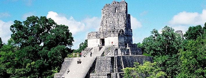 Mayan Pyramid in Antigua, Guatemala