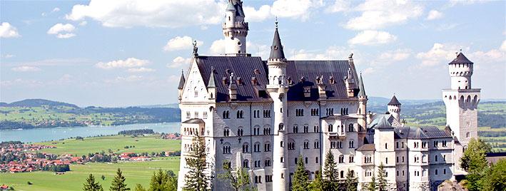 Neuschwanstein castle near Augsburg
