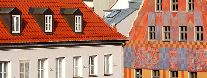 Buildings in Augsburg