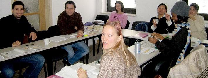 German class in Augsburg