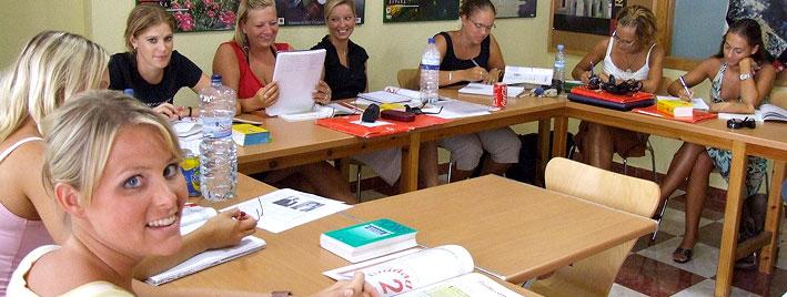Spanish class in Benalmadena