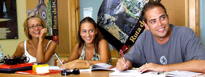 Studying Spanish in Benalmadena