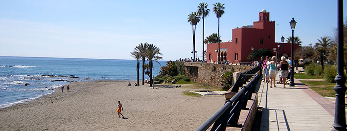 Beachfront in Benalmadena