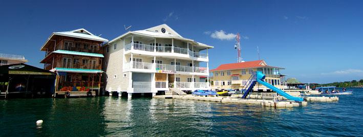 Waterside fun in Bocas del Toro