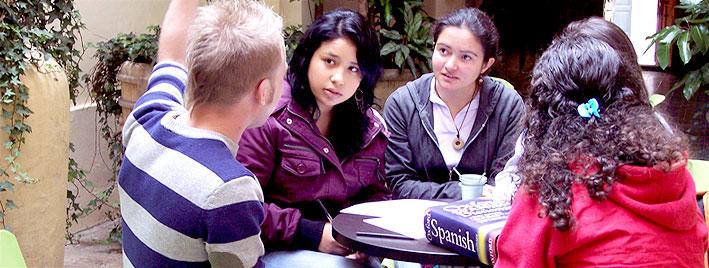 Learning Spanish in Bogota