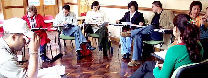 Spanish class in Bogota