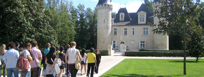 Chateau excursion Bordeaux