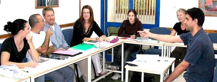 Arabic lesson in Cairo