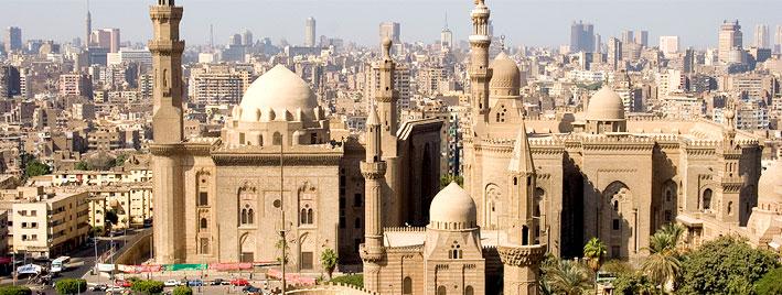 Rooftops in Cairo