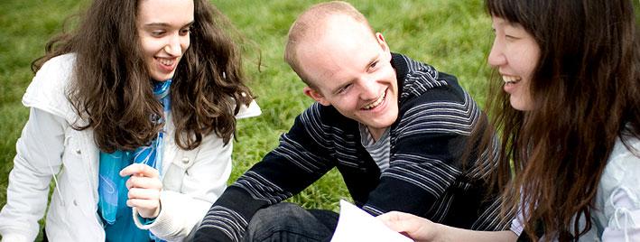 Practising English in Cambridge