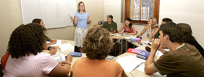 English lesson in Cape Town