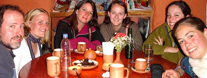 Coffee break in Cusco