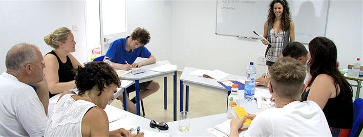 Spanish class El Puerto