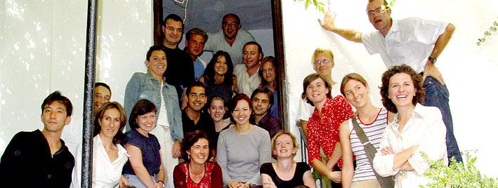 Spanish class in Granada