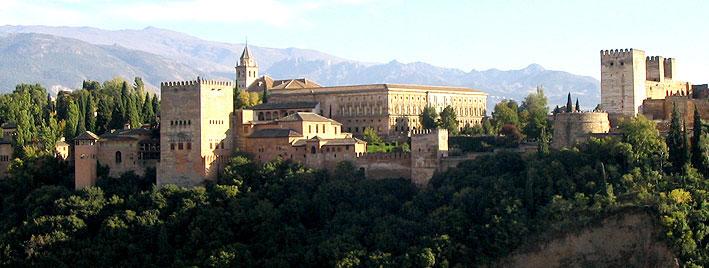 View over the Alhambra, Granada