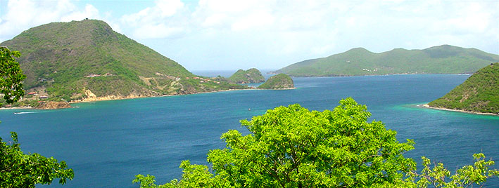 Guadeloupe bay view