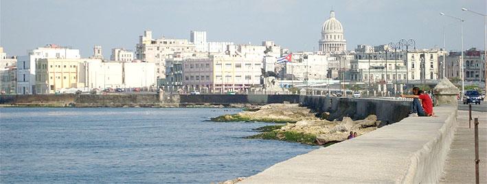 Havana shore and skyline