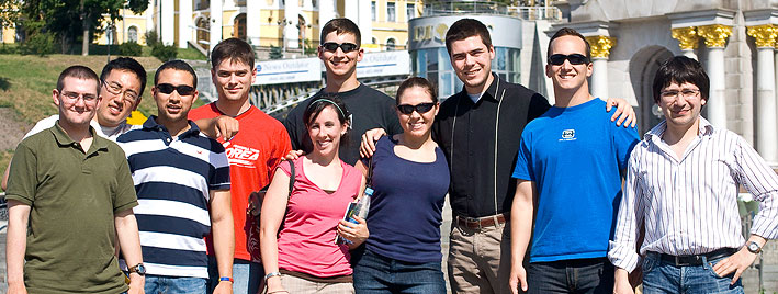 Students in Kiev