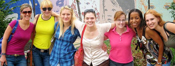 Making friends exploring Kiev