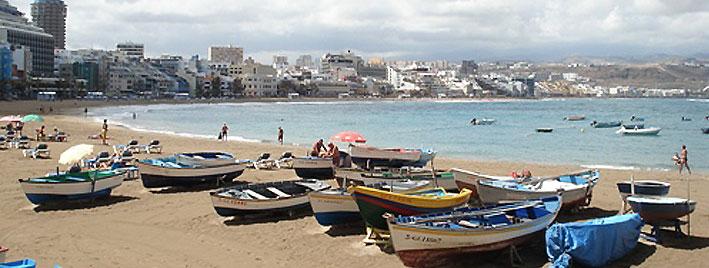 Boats in Las Palmas, Gran Canaria