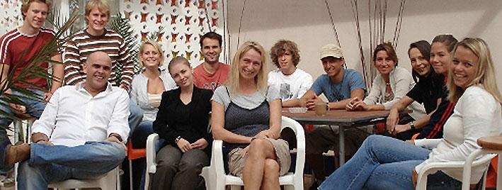 Spanish class in Las Palmas