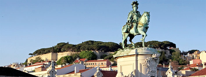 View from commercial square, Lisbon