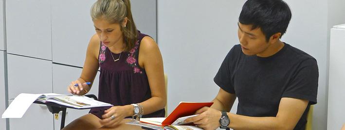 Spanish class in Madrid