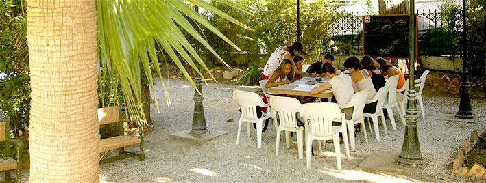 Outdoor classes in Malaga