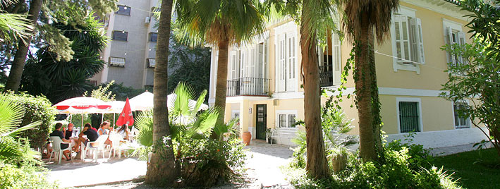 Malaga School building and grounds