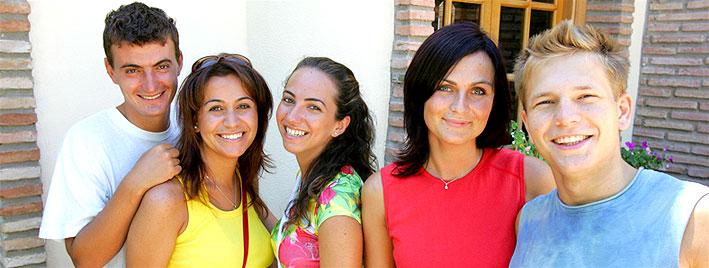 Making friends in Malaga