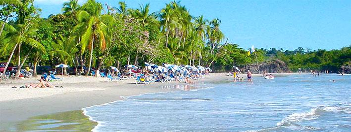 Beach in Manuel Antonio, Costa Rica