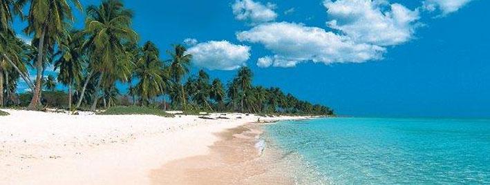Incredible beach in Martinique
