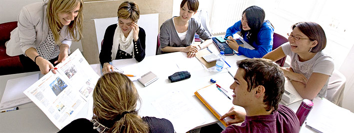 French class in Montpellier