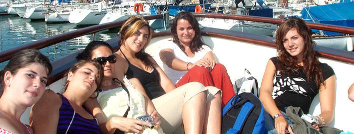 Boat trip in Montpellier