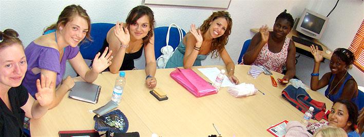Spanish class in Murcia
