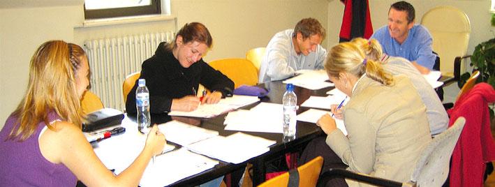 Spanish class in Pamplona