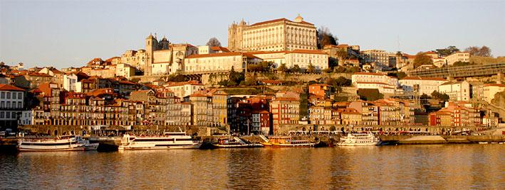 View over the Douro in Porto
