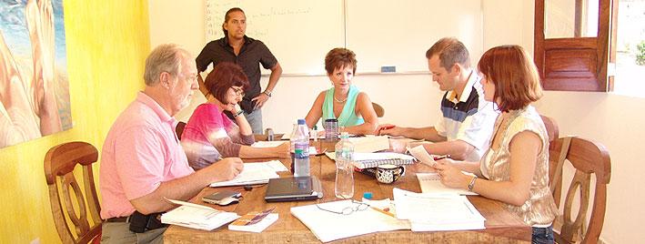 Spanish class in Puerto Vallarta