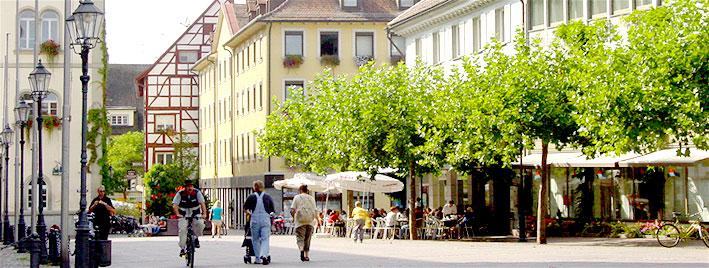 Radolfzell town centre