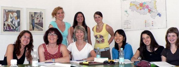 Italian class in Ravenna