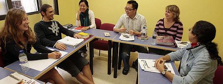 Spanish class in Salamanca