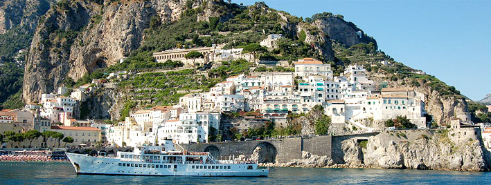 Boat and Salerno