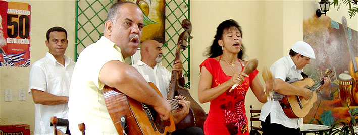 Spanish music in Santiago de Cuba