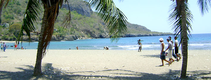 Beach in Santiago de Cuba