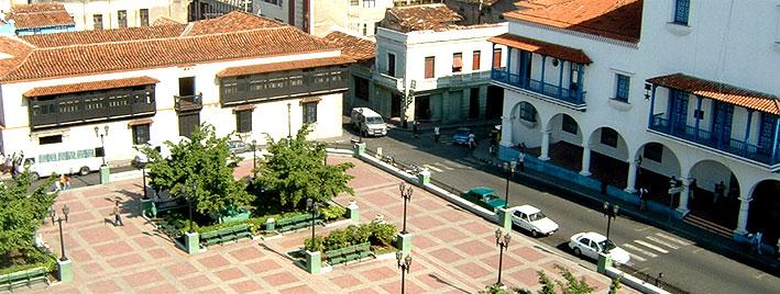 Santiago de Cuba town square