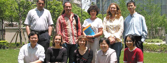 Chinese language students, Shanghai