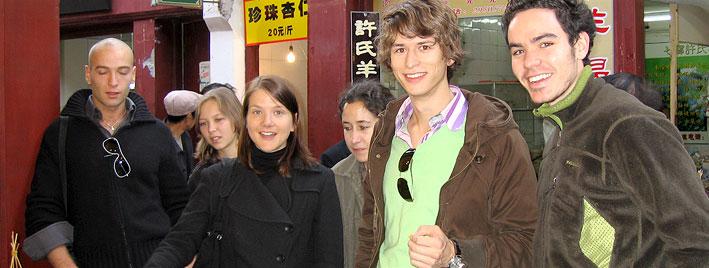 Exploring Shanghai, making friends