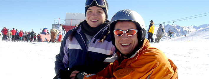 Spanish and Skiing in Santiago de Chile